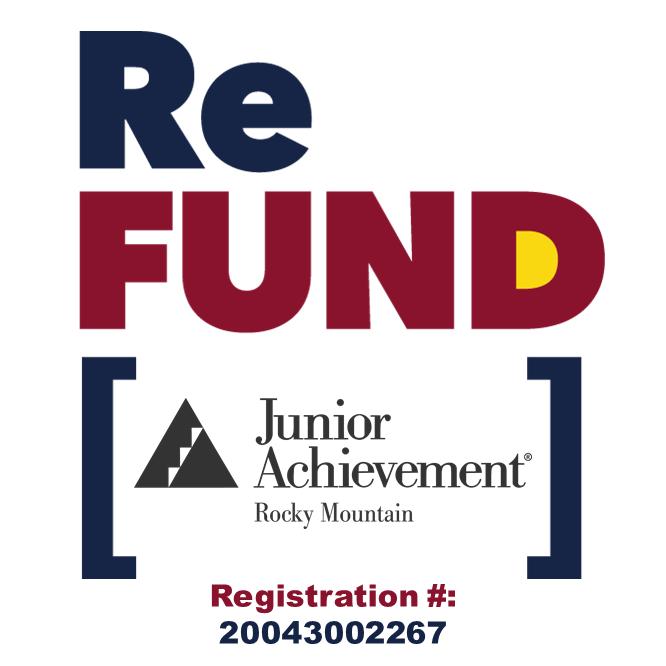 ReFund Junior Achievement. Registration # 20043002267
